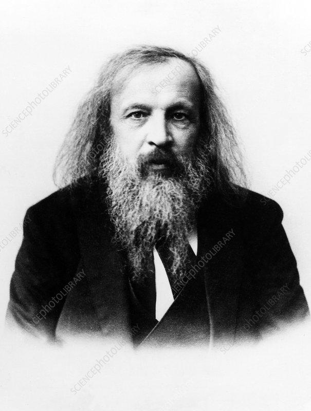 Dmitry Mendeleyev, Russian chemist