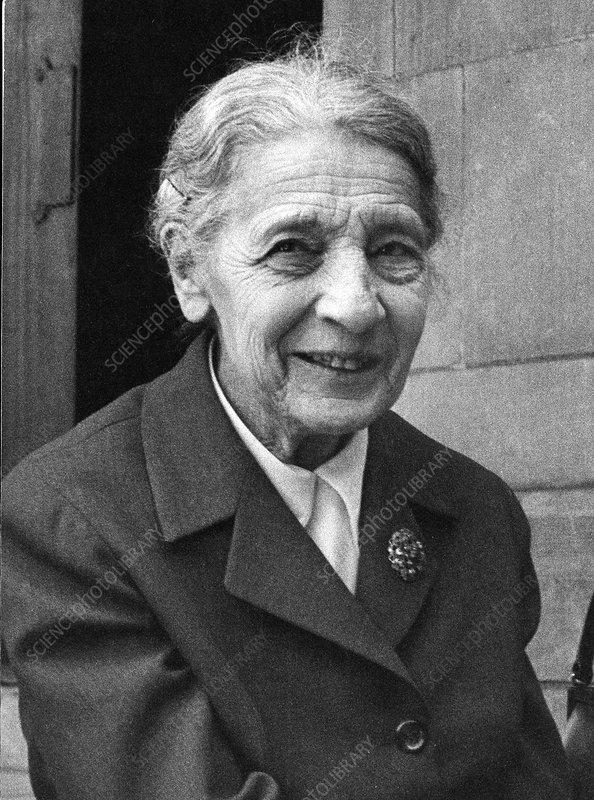 Lise Meitner, German chemist