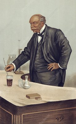 Lord Rayleigh discovering argon, 1894