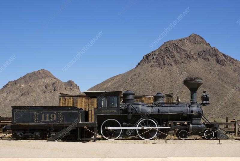 Reno steam locomotive in Arizona