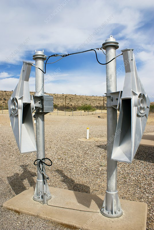 Microwave radar horns