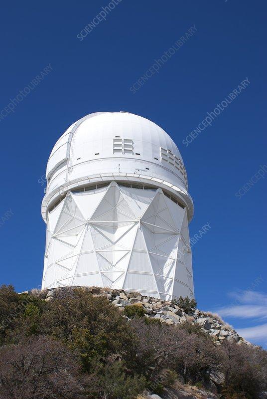 Mayall 4m telescope dome, Kitt Peak