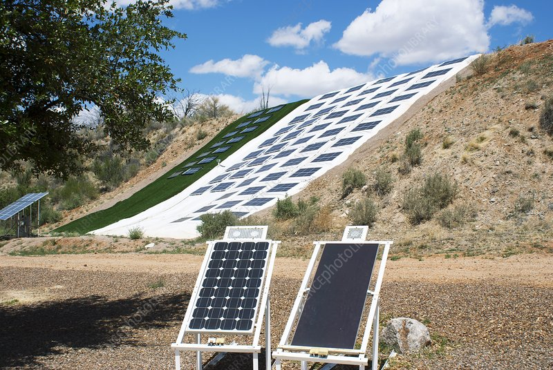 Solar cell experiments at Biosphere 2
