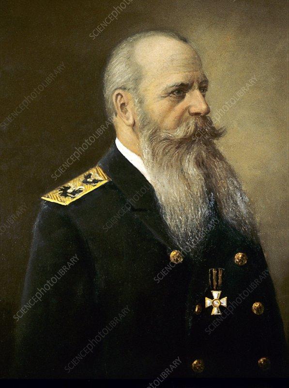 Stepan Makarov, Russian navy commander