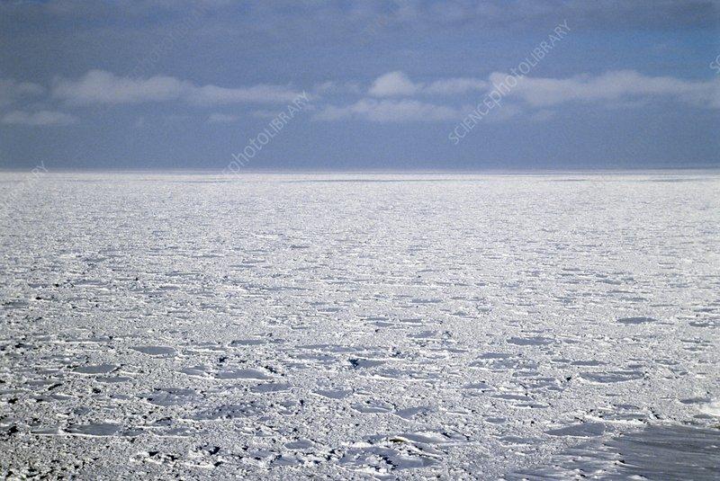 Arctic ocean, Russia