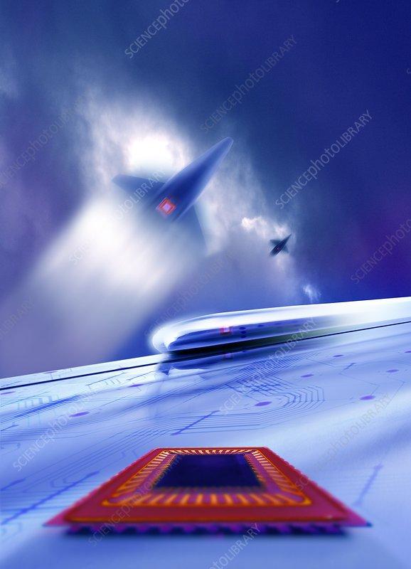 Avionics, conceptual image