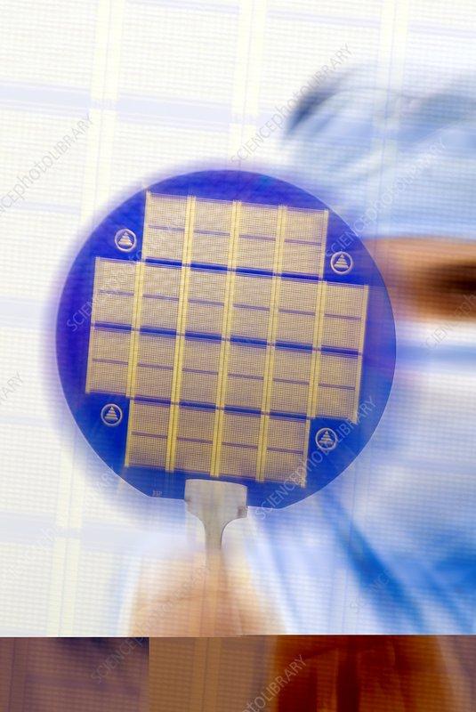 MEMS chip, composite artwork