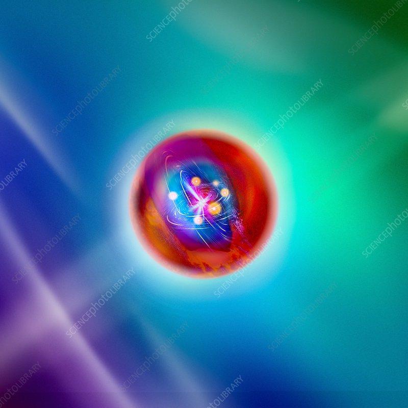 Quark, conceptual model