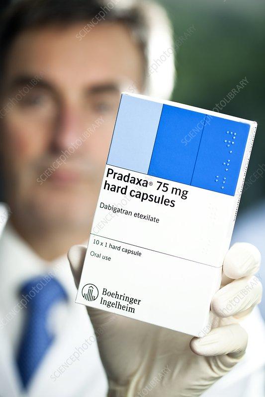 Pradaxa anti-clotting capsules