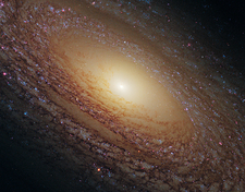 Spiral galaxy NGC 2841, HST image