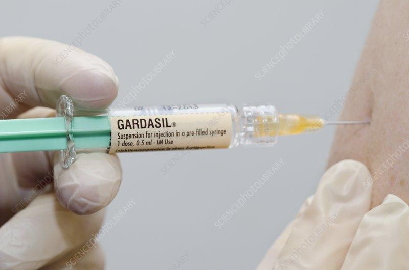 Gardasil cervical cancer vaccination