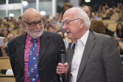 Englert and Higgs at CERN