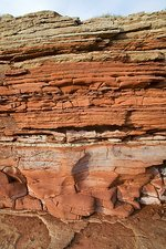Triassic rock formations, UK