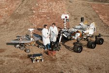 Three generations of Mars rovers