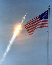 Apollo 11 launch, 16 July 1969