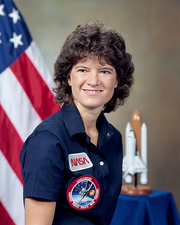 Sally Ride, US astronaut