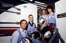 Crew of space shuttle mission STS-7