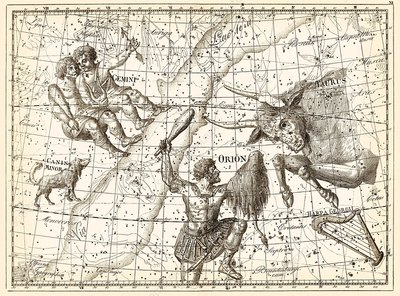 Uranographia constellations, 1801