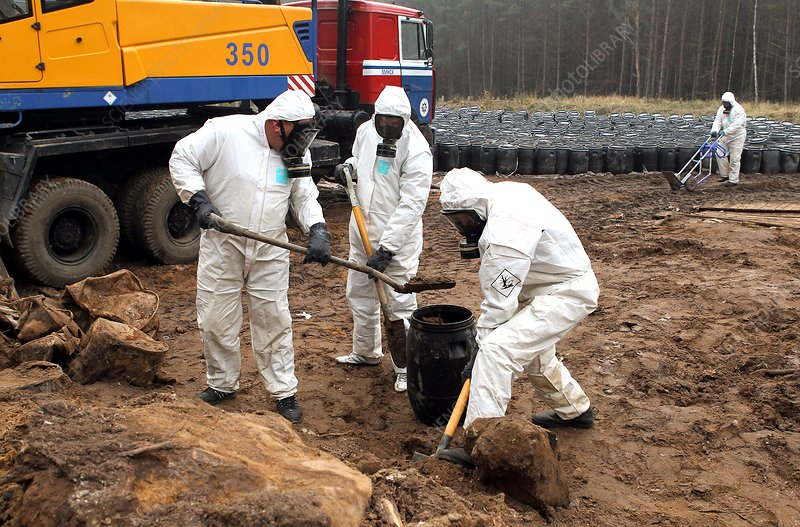 Contaminated soil disposal stock image c013 9238 for Soil removal calculator