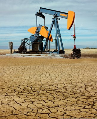 Oil pump and drought