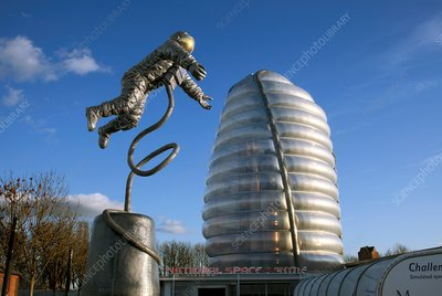Pioneer statue, UK National Space Centre