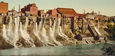 Niagara water mills, early 20th century