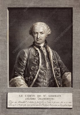 Count of St Germain, French alchemist