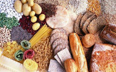 Carbohydrate-containing foods