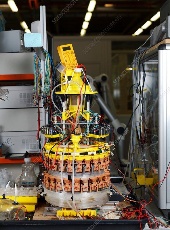 Ecobot III, self sustainable robot