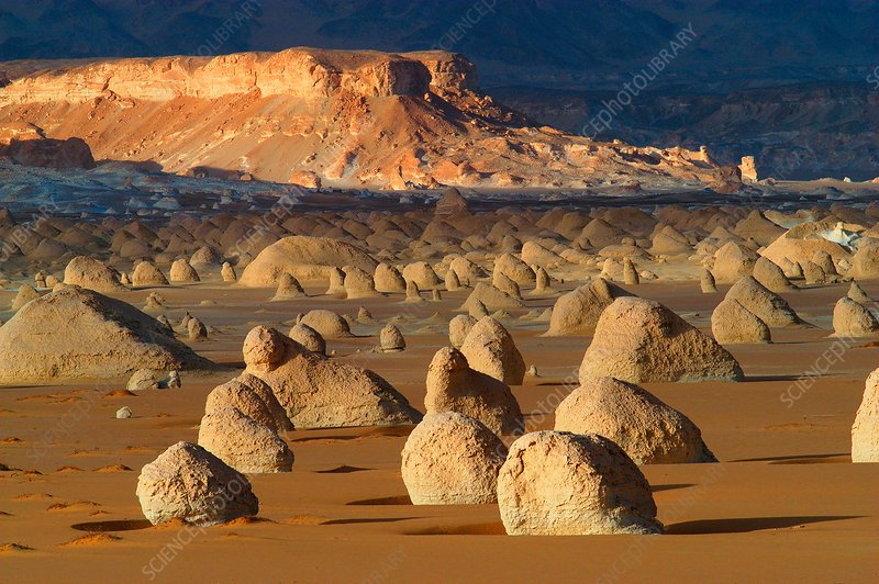 Rock formations, Egyptian Sahara