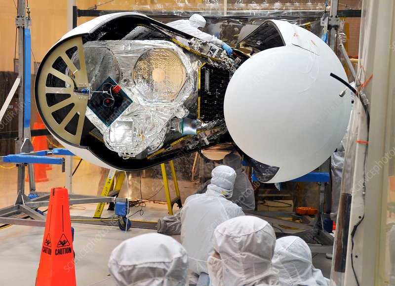 NuSTAR space telescope construction