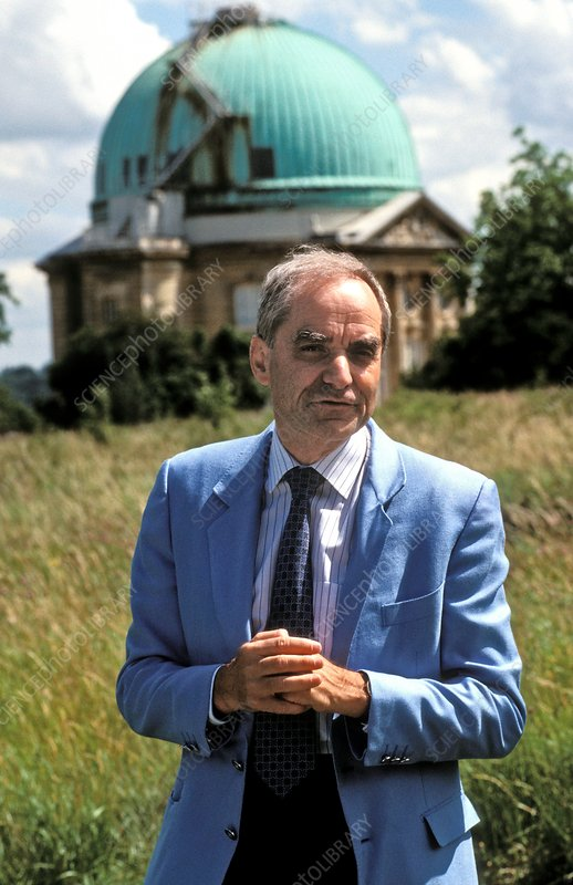 Andre Brahic, French astrophysicist