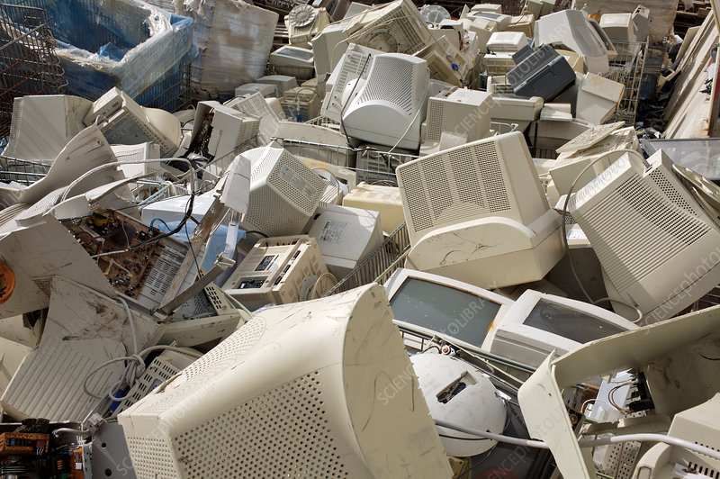Computer equipment recycling centre