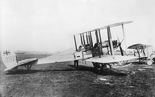 British BE2a fighter plane, World War I