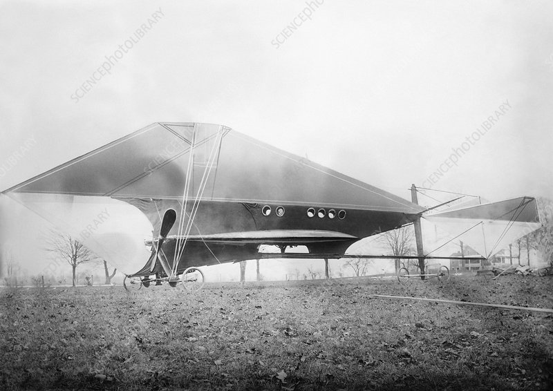 Cooley Airship, Rochester, 1910