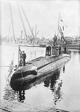 Captured German U-boat, World War I