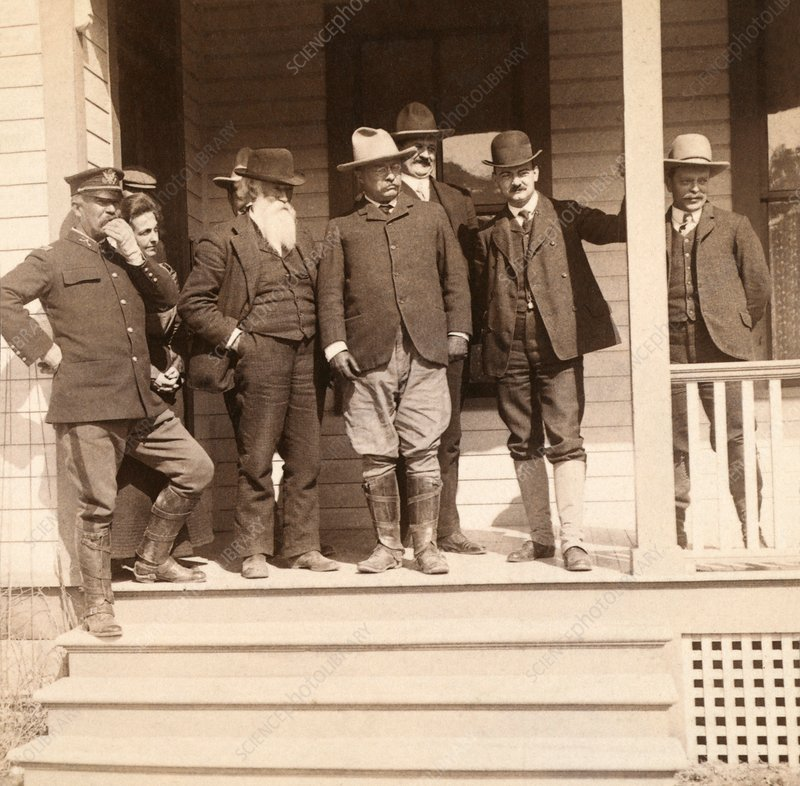 Roosevelt party at Yellowstone, 1903