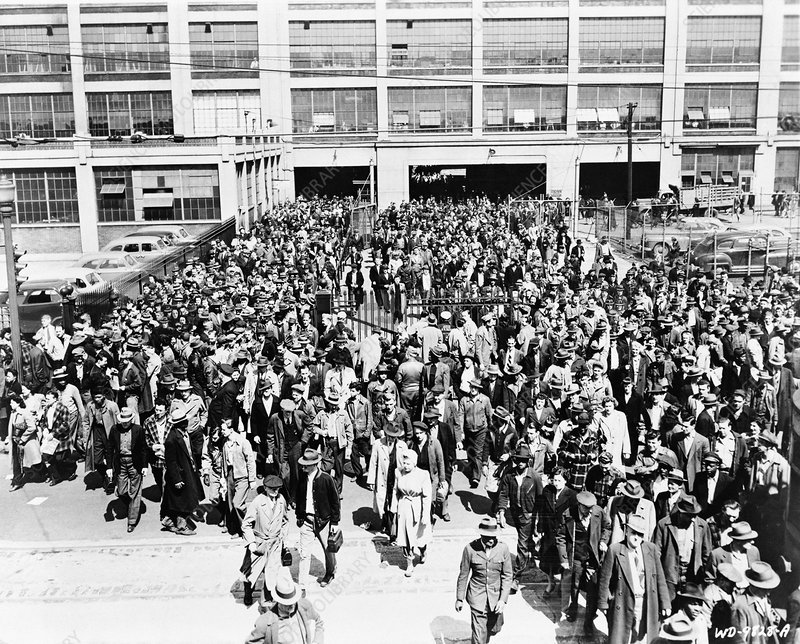Dodge Main Automobile Factory 1950