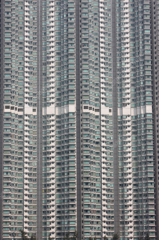 Residential high rise building