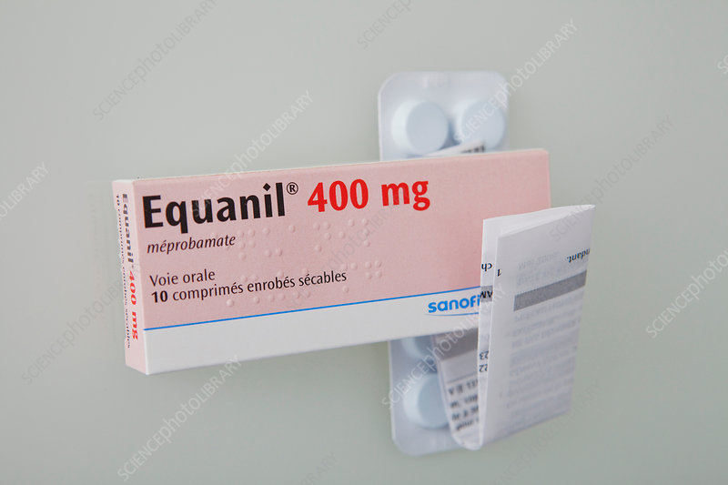 Meprobamate anti-anxiety drug