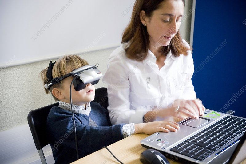 Virtual reality in child psychiatry