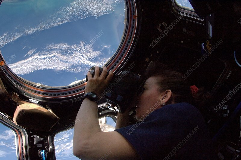Astronaut Cady Coleman, ISS