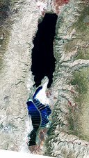 Dead Sea, 2011 satellite image