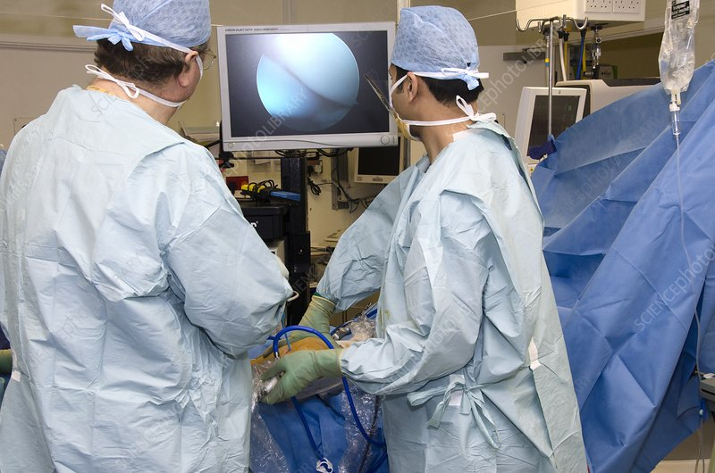 Knee ligament reconstruction surgery