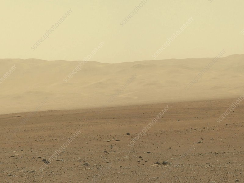 Wall of Gale Crater on Mars, original
