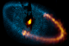 Fomalhaut dust ring, ALMA image