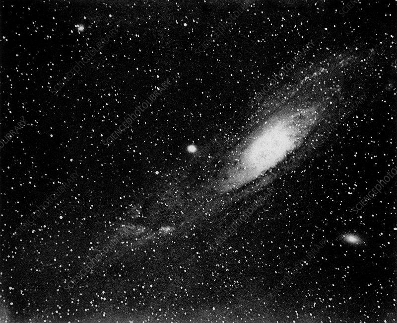 Andromeda Galaxy, 19th century