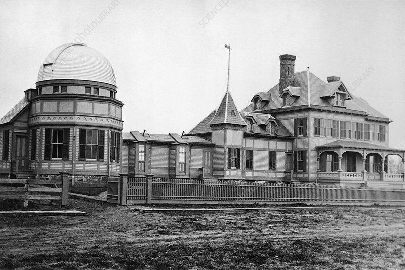 Observatory House, Princeton, 1883