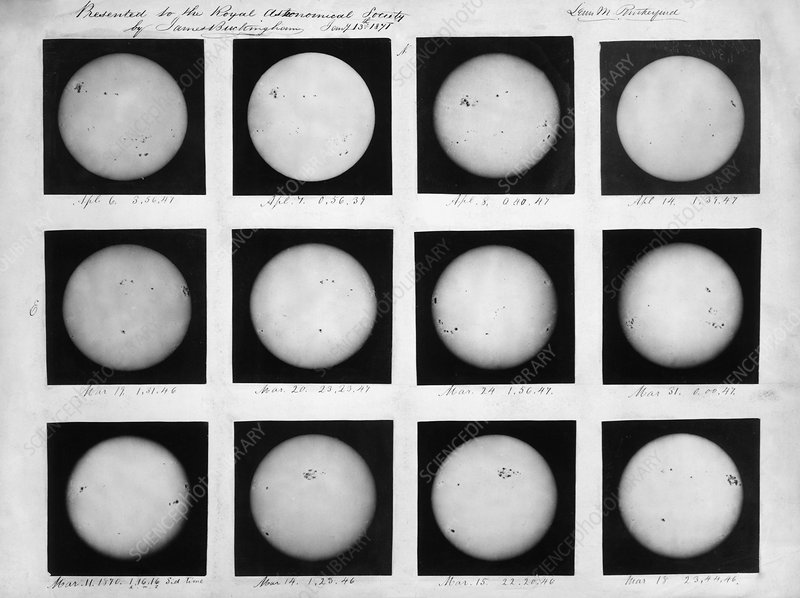 Observations of the Sun, 1870