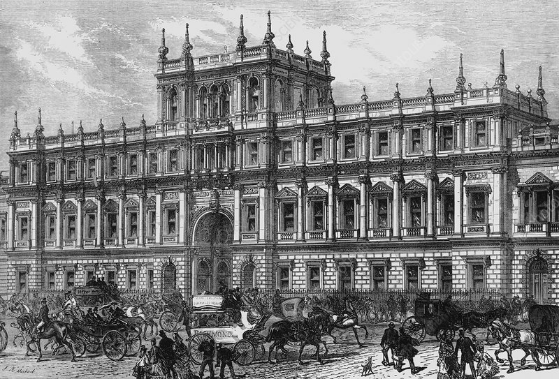Burlington House, 1873